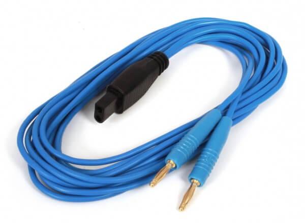 Elektrodenkabel für UROstim (Stecker-Typ 5, 1,5 m, blau)