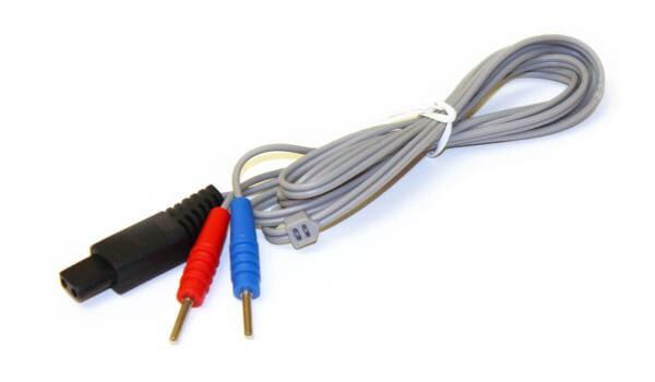 Elektrodenkabel für UROstim (Stecker-Typ 5, 1,2 m, grau)